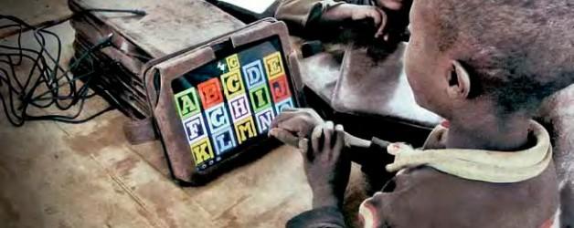 Tablets e crianças, uma Revolução
